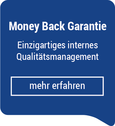 Money Back Garantie