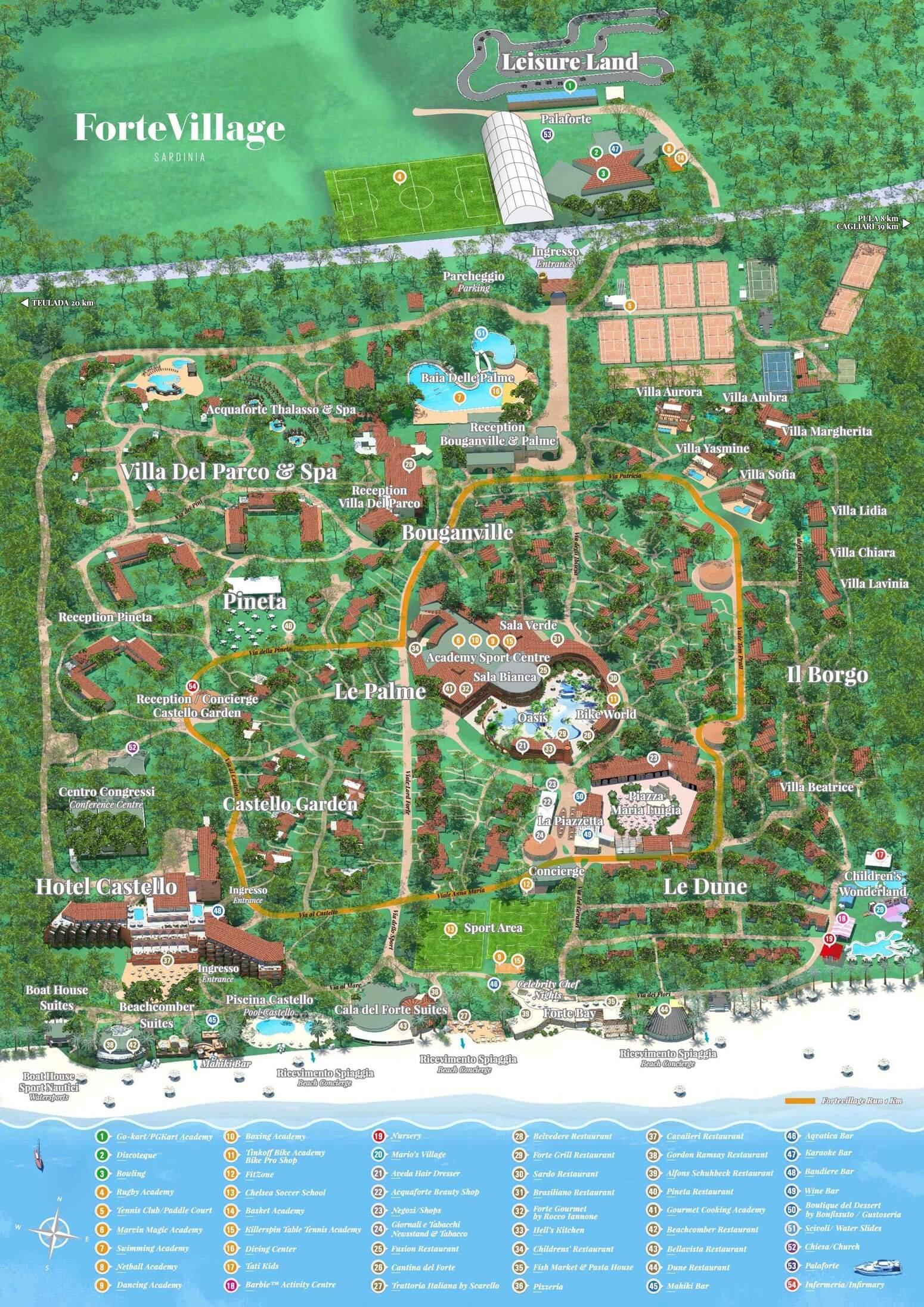 Tennisurlaub Im Forte Village Resort Auf Sardinien